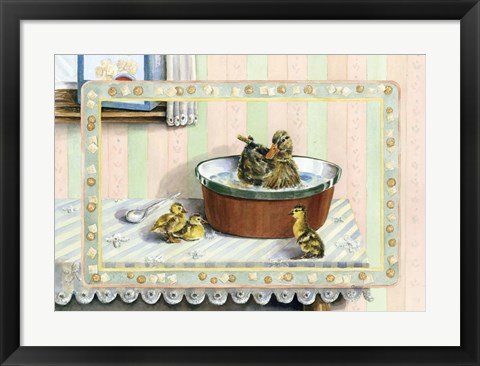 Framed Soup And Quackers Print
