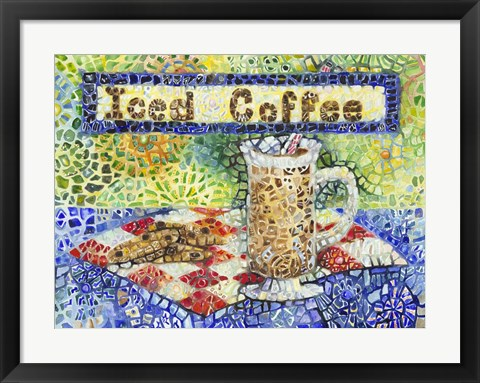 Framed Iced Coffee Print
