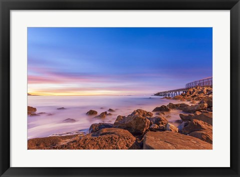Framed Low Shoals View Print