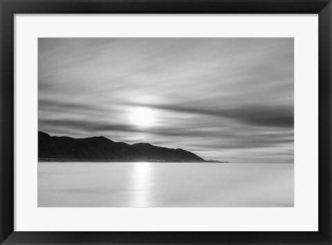 Framed Smooth Sunrise Print