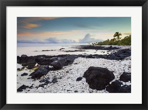 Framed Waikoloa Sunrise Print