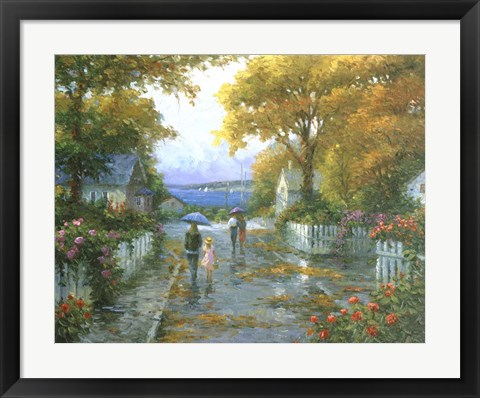 Framed Cherished Fondness Print