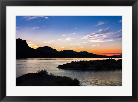 Framed Havasu Sunset I Print
