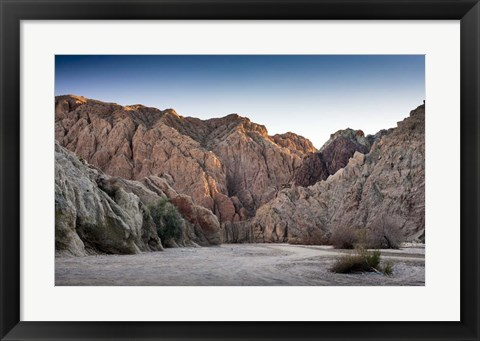 Framed Painted Canyon Print