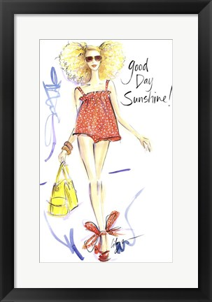 Framed Good Day Sunshine Print