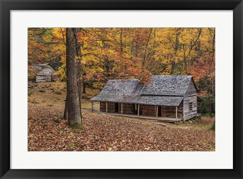 Framed Bud Ogle Place With Barn Comp 2 Print