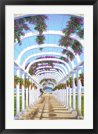 Framed Arches Print