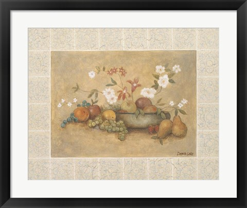 Framed Fruit A Print