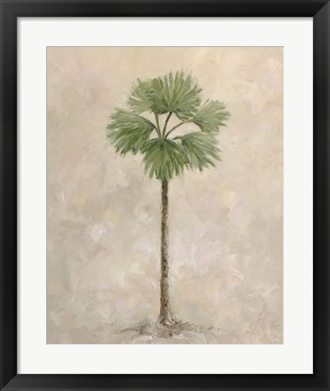 Framed Palm Tree 3 Print