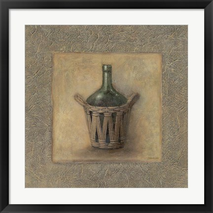 Framed Jar In A Vase Print