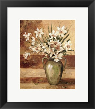 Framed Early Summer Daffodils Print