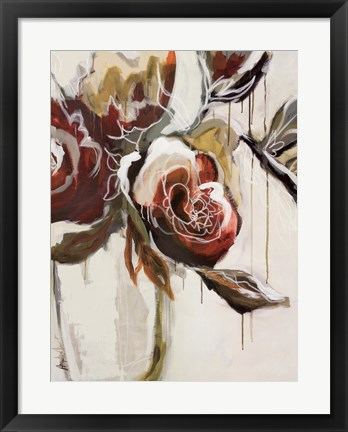 Framed Florist Pickings Print