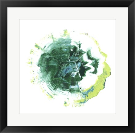 Framed Geode Abstract III Print