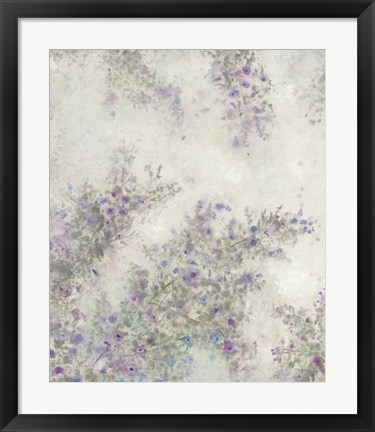 Framed Twig Blossoms III Print