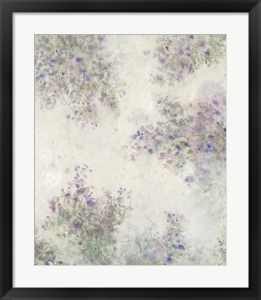 Framed Twig Blossoms IV Print