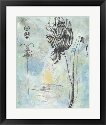 Framed Botanical Abstract I Print