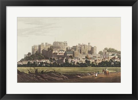 Framed View of Windsor Print