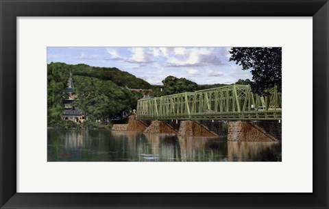 Framed Bridge 2 Print