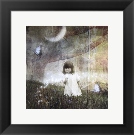 Framed Blowing Magic Print