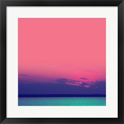 Framed Candy Sea Print