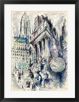 Framed New York 79 Print