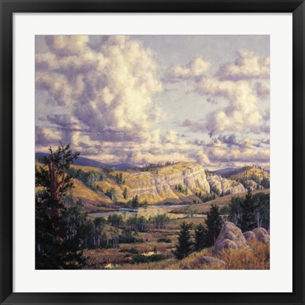 Framed Pipestone Canyon Print