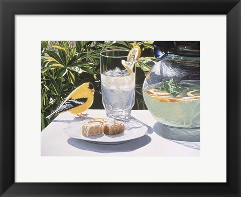 Framed Lemonade Print