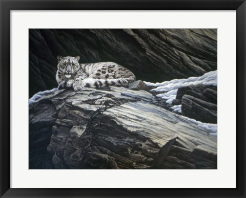 Framed Mountain Monarch Print