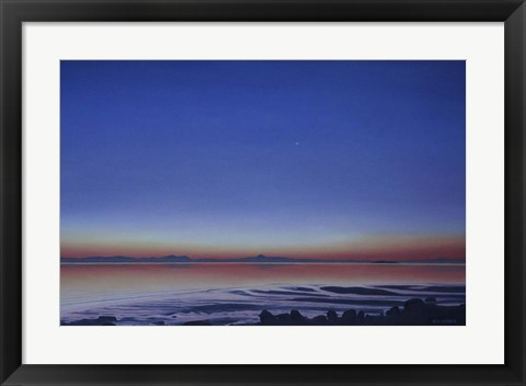 Framed Morning Star Print