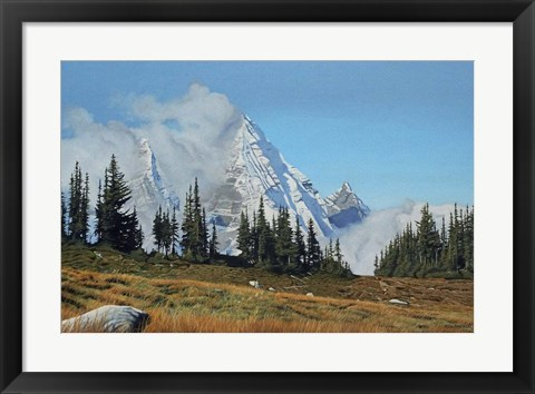 Framed Mountain Mists Print