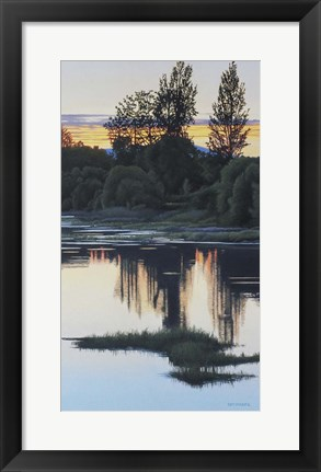 Framed Sundown Print