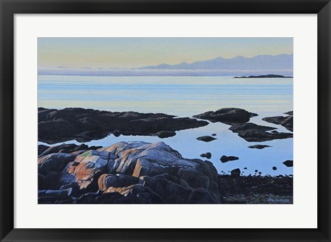Framed Tidal Pools Print