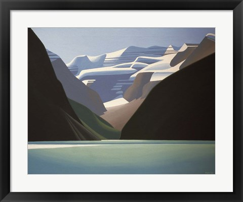 Framed Lake Louise Print