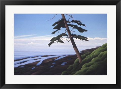 Framed Western Shore Print