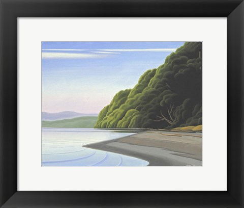Framed Coastal Morning 2 Print