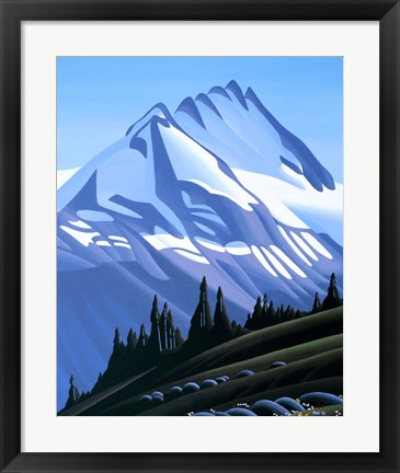 Framed Mountain Print