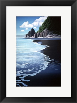 Framed Washington Coast Print