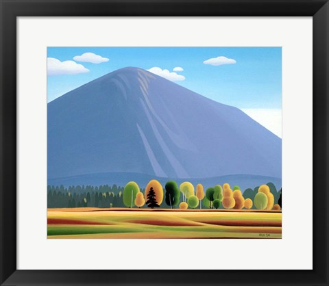 Framed Autumn Afternoon Print