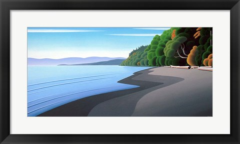 Framed Autumn Coast Print