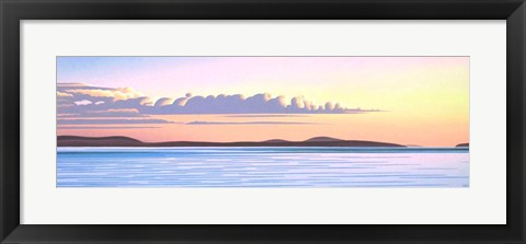 Framed Island Dawn Print