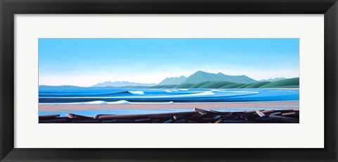 Framed Pacific Horizon Print