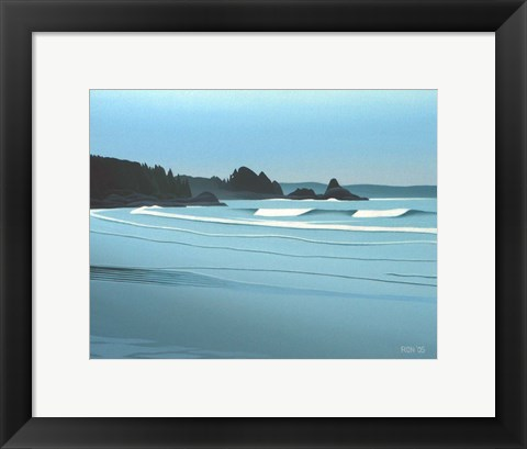 Framed Cox Bay Headland Print