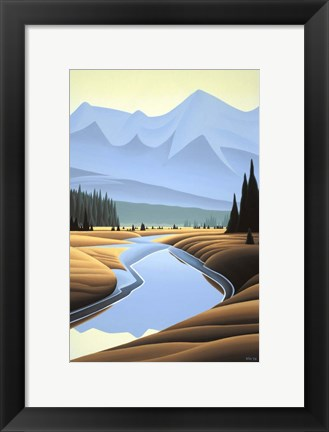 Framed Kootenay Autumn Print