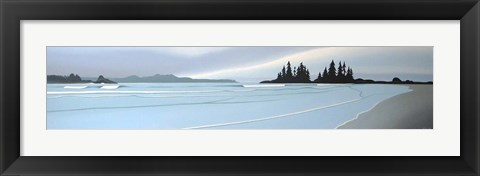 Framed Cox Bay Islands Print