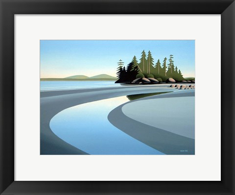 Framed Tidal Pool Print