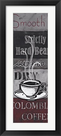 Framed Coffee Story Ii Print