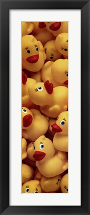 Framed Duckies Galore Print