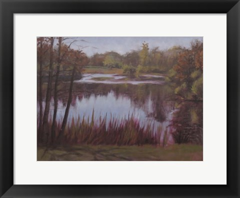Framed Kent Lake 1 Print