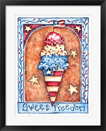 Framed Sweet Freedom Print