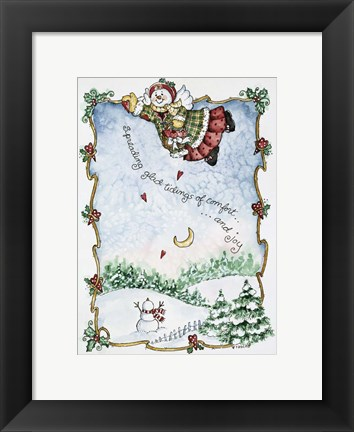Framed Spreading Glad Tidings Print
